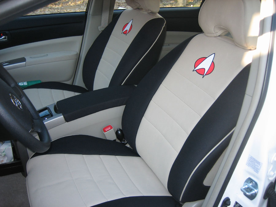 Star Trek Car Seat Covers